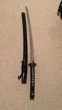 Fully sharpened katana