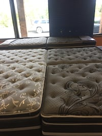 Weekend super sale going on now! New queen size mattress sets
