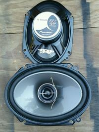 Pioneer 6x8 car speakers Los Angeles