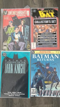 Batman comic collection Toronto, M6E 3Z8
