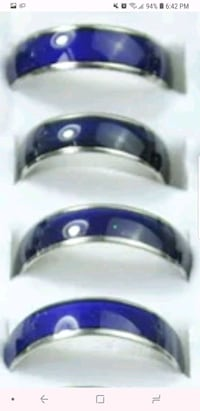 1 mood ring changing color. 30 firm women and men  Richmond, V6Y 2G2