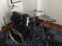 black and gray drum set Alexandria