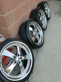 "20"" Rims and Tires Downey, 90242"