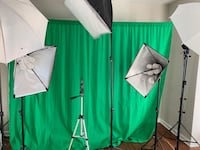 Full studio set up for professional photography | YouTube channels Rockville, 20852