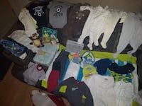 Asortited baby clothes  Winnipeg, R2W 2E1