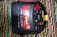Duralast 700 peak amps jump starter with inflator