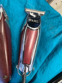 Wahl detailer t wide blade adjusted for sharp lining Toronto, M4K
