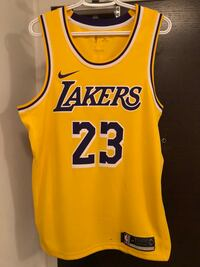 Lakers Lebron 23 jersey Size:M Price: $140 Toronto, M5V 4A9