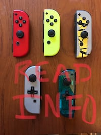 Nintendo Switch Left and Right Joy Con Controllers (Directional pad d pad) Plainfield, 07060