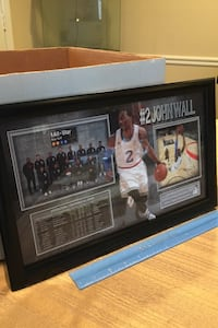 John Wall framed picture