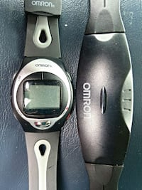 omron heart rate monitor watch and chest strap 202 Woodstock, 22664