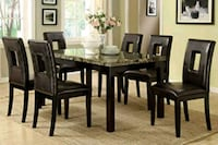 Brand New Casual 7pc. Dining Table Set Austin