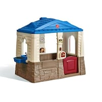 Step2 Neat & Tidy Cottage Playhouse, Blue (New) Stafford, 77477