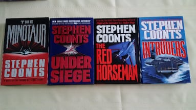 Stephen Coonts Collection - Techno Thriller - Hard Cover