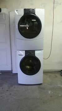 Kenmore Elite front loading washer& gas dryer