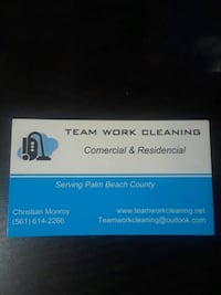Cleaning service Lake Worth, 33462