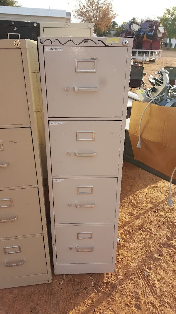 Used 4 Drawer File Cabinets For Sale In El Paso Letgo