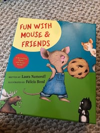 Mouse and friends book box set Pointe-Claire, H9R