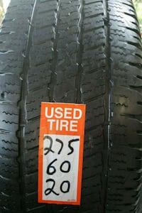 Set of Goodyear tires 275/60/20 Seffner, 33584