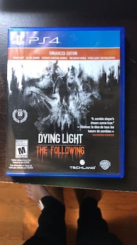 Dying Light PS4 game case Caledon, L7C 3B9