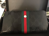 Black and red louis vuitton leather wallet North Vancouver, V7J 3N3