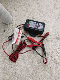 Motorcycle battery charger, portable camping chg Reston, 20191