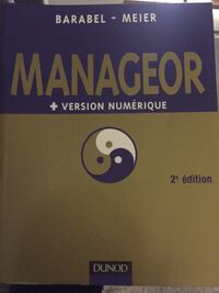 Manageor Version Numerique 2nd Edition par Barabel-Meier livre Toulouse, 31000