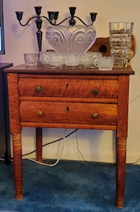 Handmade antique 2 drawer table Silver Spring, 20906