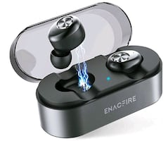 Wireless Earbuds with Wireless Charging Case, Waterproof NEW ½ PRICE