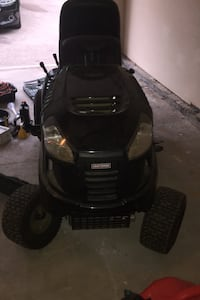 Craftsman Lawn Tractor and accessories - see description for details.