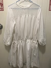 B+ab white one piece dress Hong Kong
