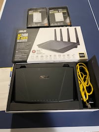 Asus Router (AC2400) with 2 Range Extenders (RP-N53)