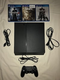 PS4 (500 GB) w/ controller + games Omaha, 68144