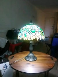 green and white floral table lamp Paxville, 29102