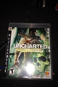 Uncharted drake's fortune ps3 game case Huntington Beach, 92646
