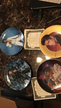 four assorted ceramic decorative plates Hamilton, L8E 3G6