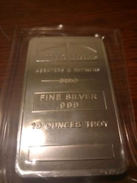 10 Troy Oz NTR METALS ASSAYERS BOYERS New Britain, 06051