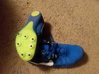 pair of blue-and-green Nike sneakers Pelahatchie, 39145