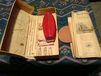 Old xebec wooden boat kit Hedgesville
