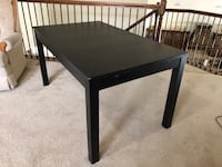 rectangular black wooden coffee table Dallas, 75209