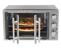 Oster XL Convection Manual French Door Toaster Oven, Stainless Steel Brampton, L6S 6L8