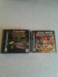 Two ps1 star wars games Atwater, 95301