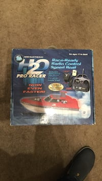 H2O Pro Racer race ready radio control speed boat box Cayce, 29033