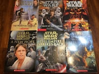 Star Wars 6 film scholastic books ($10 for the whole 6 books) North Vancouver, V7P 1S3