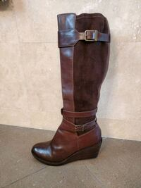 Cole Haan leather wedge boots Morgan Hill, 95037