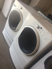 white front-load clothes washer and dryer set Stockton, 95205