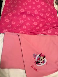 Both Disney blankets. Who has an Emma! Perfect for your baby girl