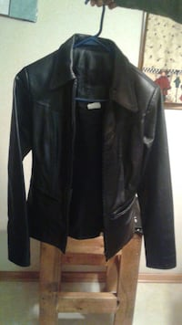 Leather jacket,boots,pants and hat all for $60