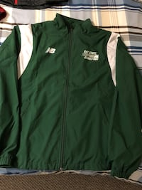 green and white Adidas zip-up jacket Fall River, B2T 1P5