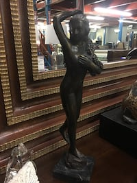 """"""" Nymph holding Grapes"""" bronze Statue on Marble base  Thomasville, 27360"""